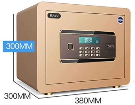 MSHK Elektronischer Safe Doppelbolzenverriegelung Boden