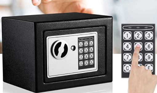 Huini Tresor klein Elektronischer Safe Minisafe